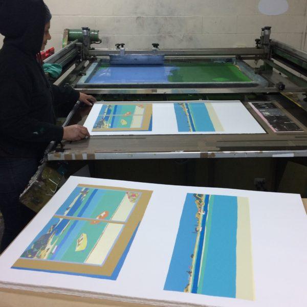 Tom Burnett artwork printing