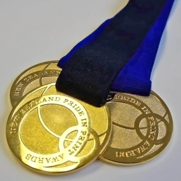 Pride In Print Awards Gold Medals