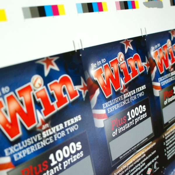 Silver Scratch Off tickets printing services in Onehunga, Auckland