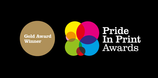 Pride In Print Awards Gold - Award Winner